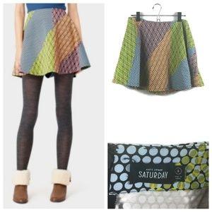 Kate Spade Saturday Mini Skirt in Cross Dot